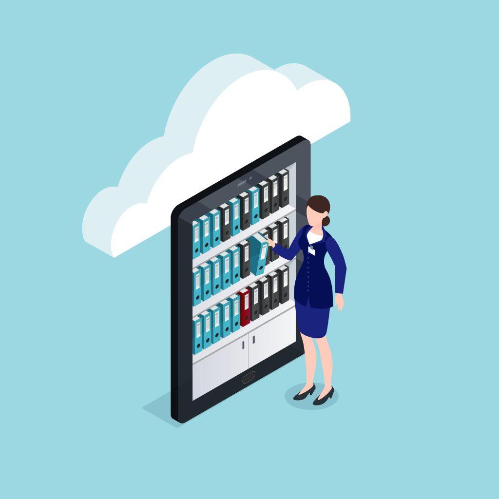 archivage électronique cloud