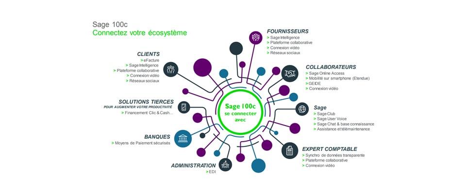 Sage 100 écosystème